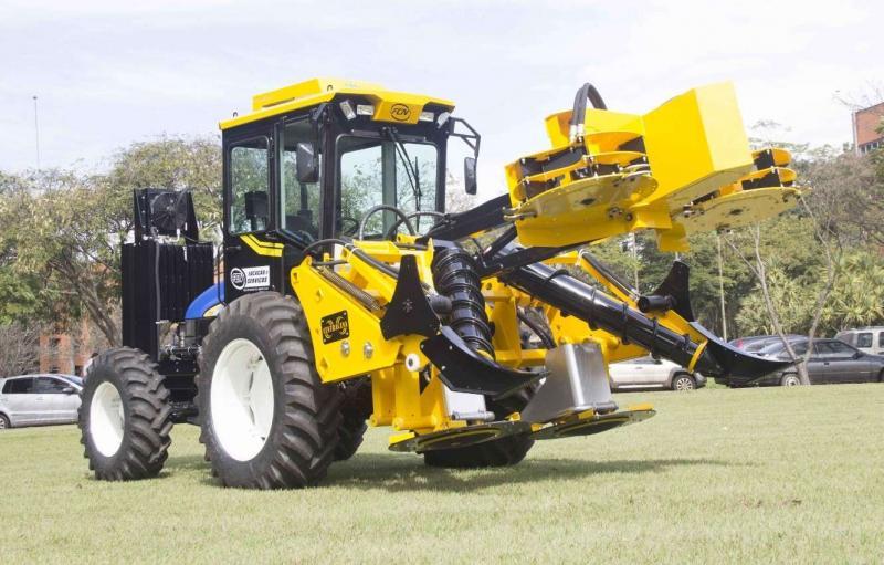 Máquinas para colheita de cana