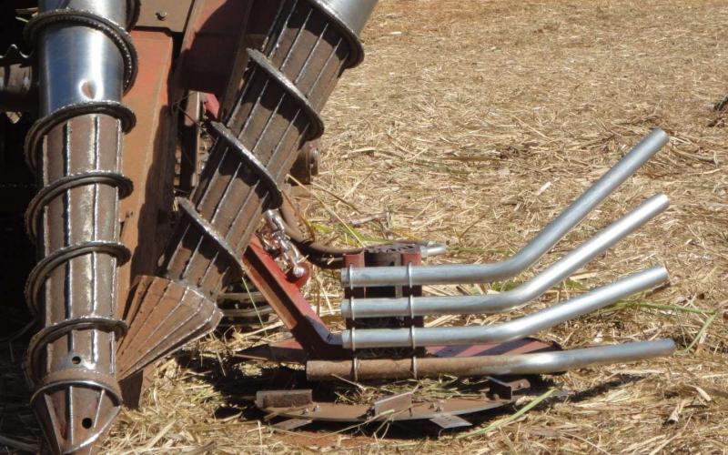 Máquinas para colher cana