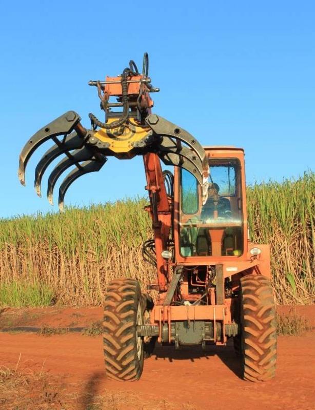 Mecanização colheita cana